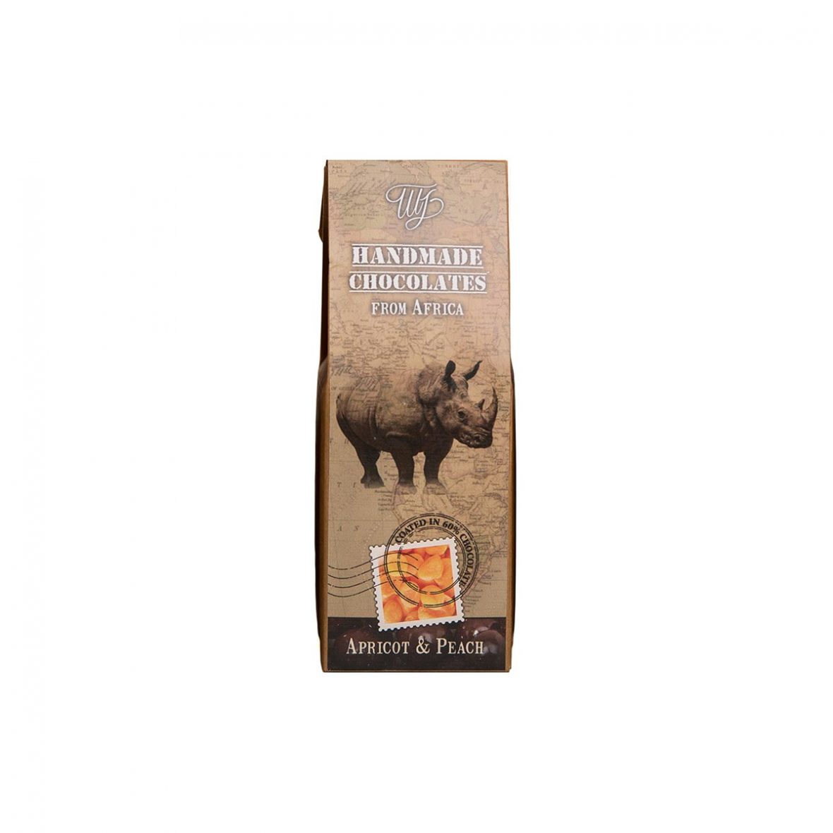 Rhino - Apricot and Peach African Collection
