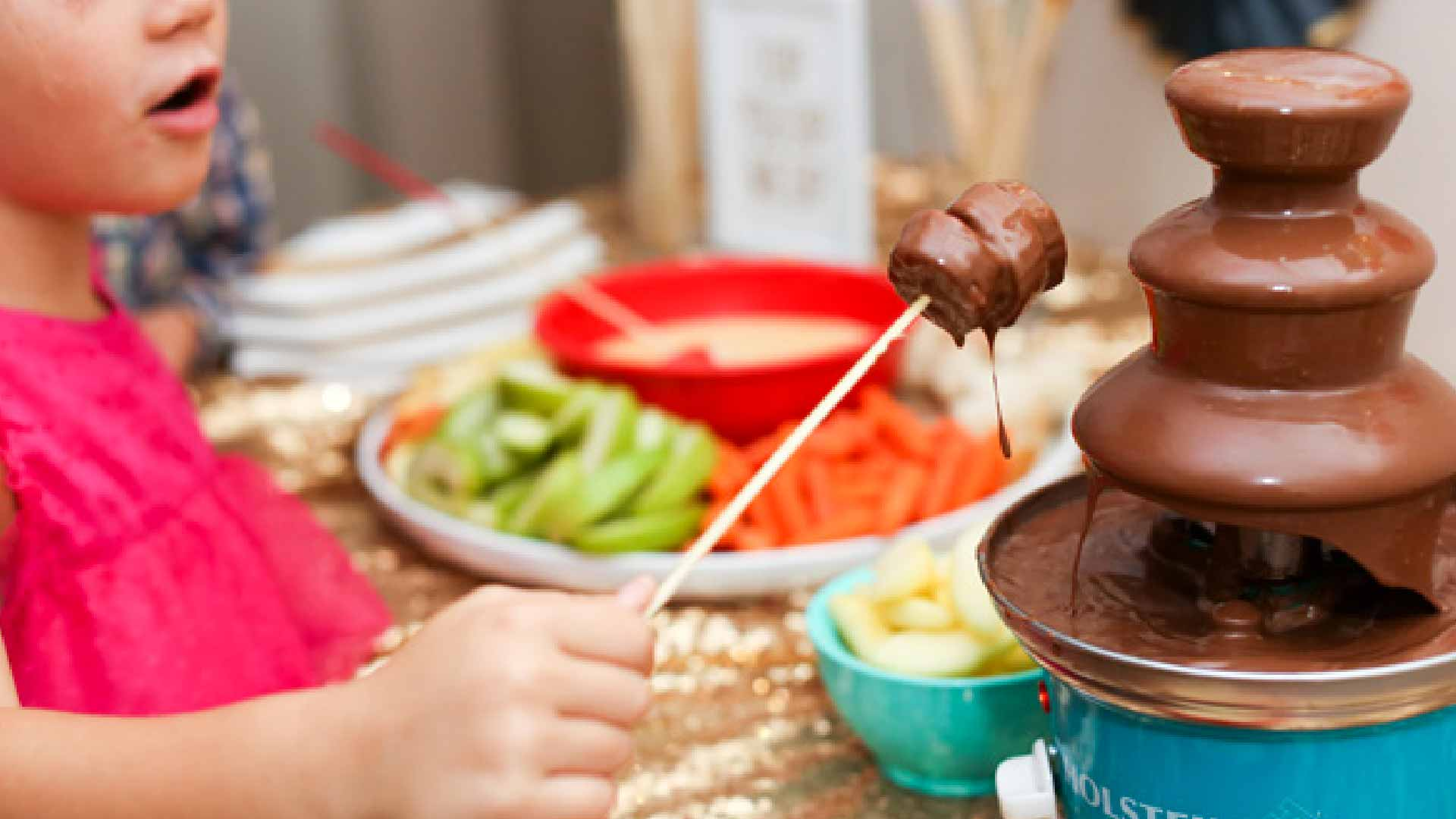 chocolate parties for kids