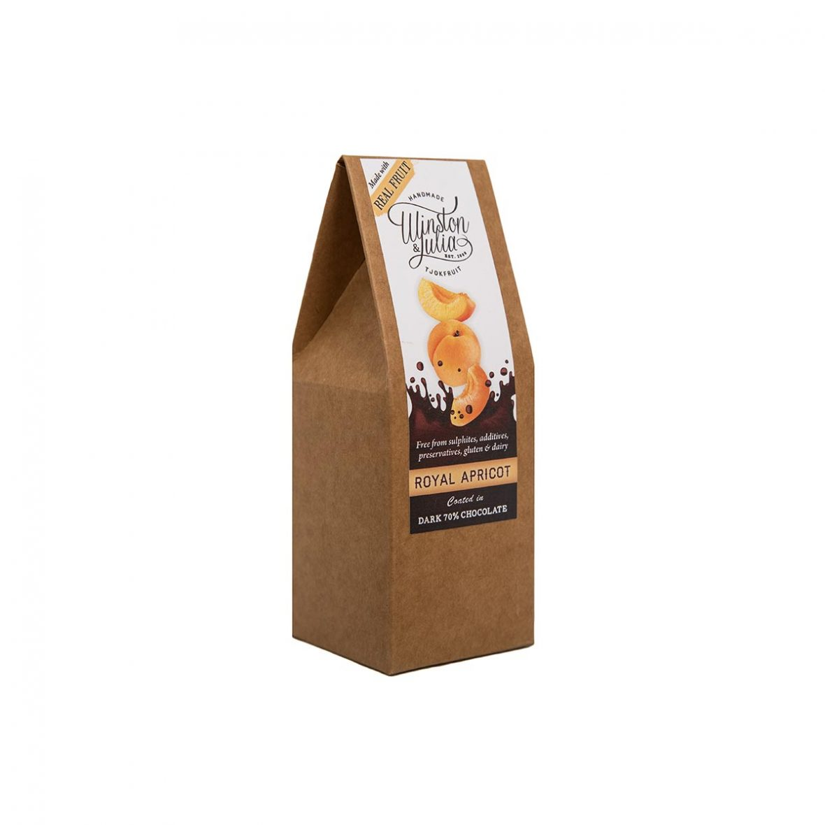 Apricot 70% Chocolate Natural Collection