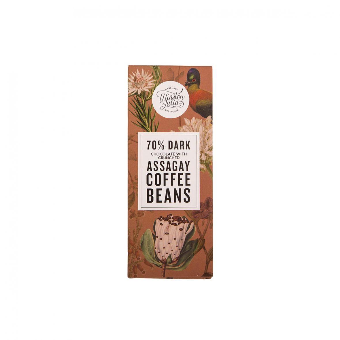 Coffee - 70% chocolate slab