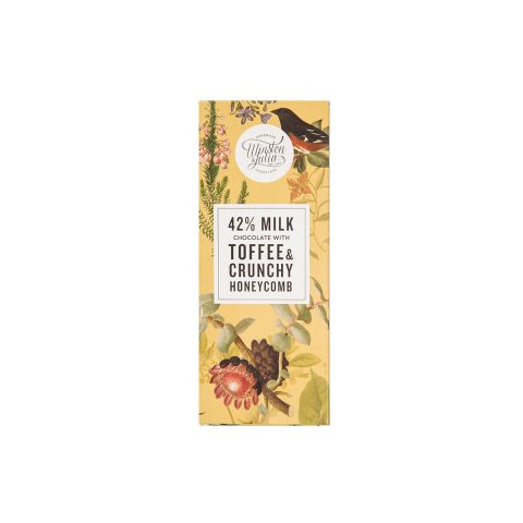 Toffee & Honeycomb - Milk chocolate slab